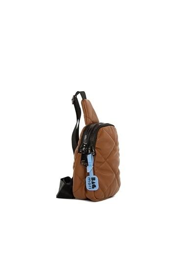 Bagmori Messenger / Askılı Çanta Taba